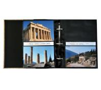 Álbum aberto 10x15 - 11,4x15 -13x18 ampliável - ferragem