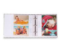Álbum aberto 10x15 - 15x21 ampliável - ferragem