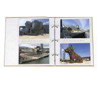 Álbum aberto 10x15 - 11,4x15 - 13x18 ampliável - ferragem