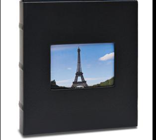 Álbum de Fotos - Black com janela - 750