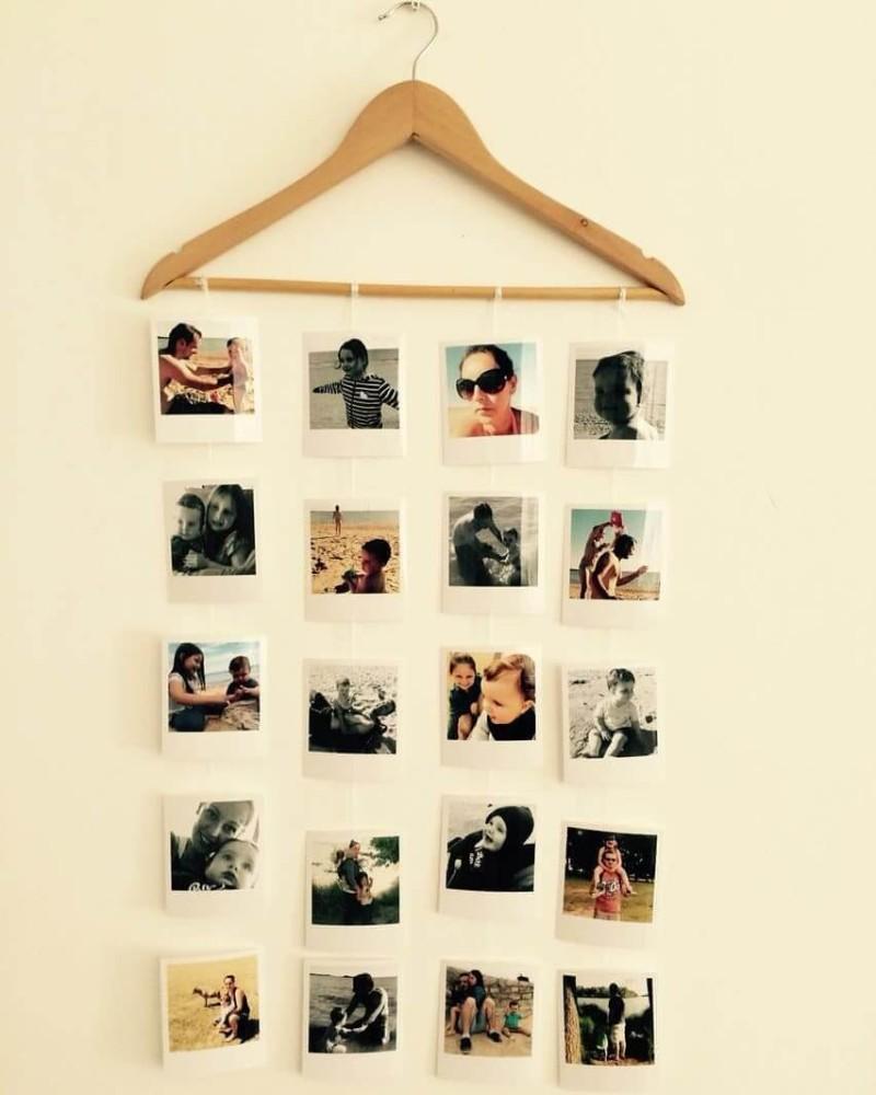 cabide de fotos