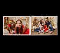album fotos instalivro horizontal natal ical aberto